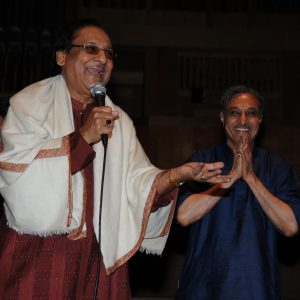 Radhey with Gulam Ali ji 2